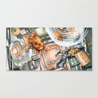 phish Canvas Prints featuring Space Phish by Ian Anderson