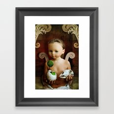 The Balance. Framed Art Print
