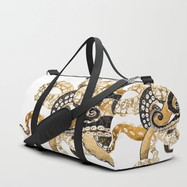 Metallic Octopus Duffle Bag