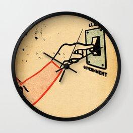 Shut 'Err Down Wall Clock