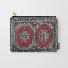 Traditional rug - Ruby Red Carry-All Pouch