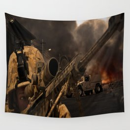 The Sniper Wall Tapestry