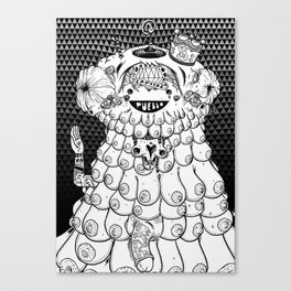 Cute Rapist Canvas Print