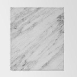 Carrara Italian Marble Throw Blanket