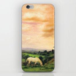 Farmland in Cumbria iPhone Skin