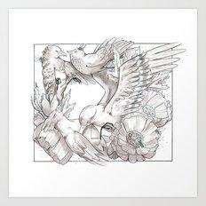 birds/Silence Art Print