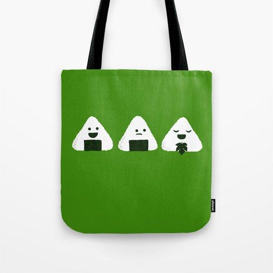 Nude Onigiri Tote Bag