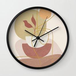 Abstract Modern Art 16 Wall Clock
