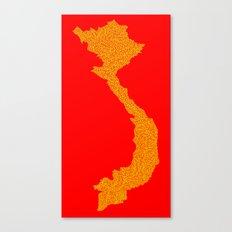Vietnam Line Canvas Print