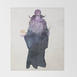 Mind Flayer Throw Blanket