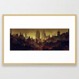 South Quarter Framed Art Print