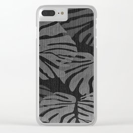 MONSTERA BNW Clear iPhone Case