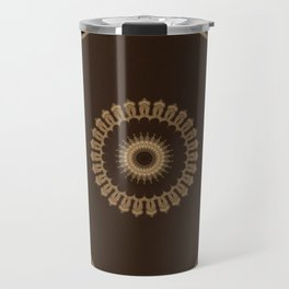 Sequential Baseline Mandala 25 Travel Mug
