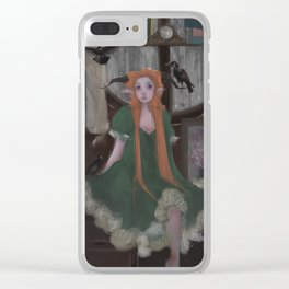 Crows in the attic Clear iPhone Case