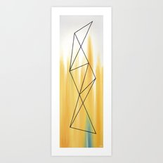 Geo - 2 Art Print