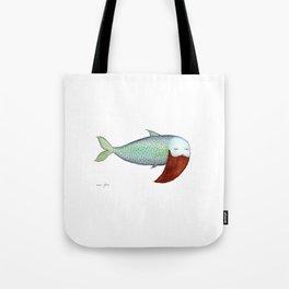 fish with beard Tote Bag