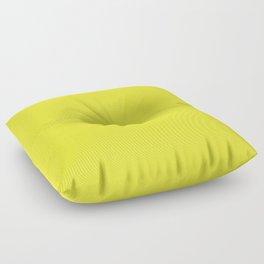 Australian Great Barrier Reef Neon Yellow Sergeant Major Fish Floor Pillow
