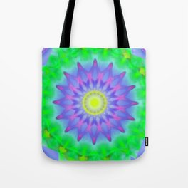 Abstract Flower AA YY Tote Bag