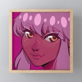 Magnolia Icon Framed Mini Art Print