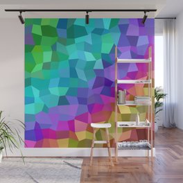 Multicolor mosaic tiles Wall Mural