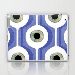 Eye Pod Purple Laptop & iPad Skin