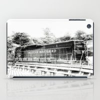 train iPad Cases featuring Train by Geni