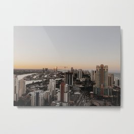 welcome to the gc Metal Print