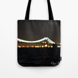 Fort Totten Bridge Tote Bag