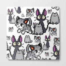 Cat and kitten 5 Metal Print