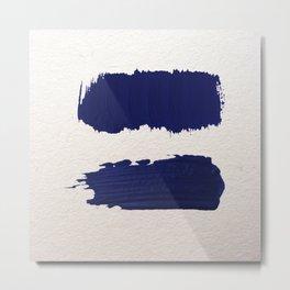 Equal strokes Metal Print