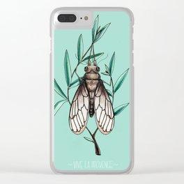 Vive la Provence Clear iPhone Case