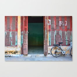 Bicycle at Hoi An, Vietnam.  Canvas Print