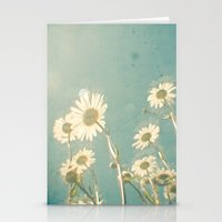 forever young Stationery Cards featuring Forever Young by Cassia Beck