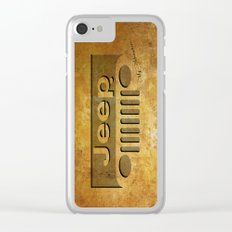 jeep Clear iPhone Case