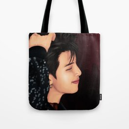 BTS RM FAKE LOVE FANART Tote Bag