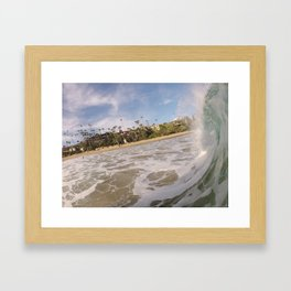 WOWZA Framed Art Print
