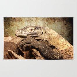 Komodo dragon- Wild reptile - predator - Animal Rug