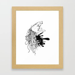 when did you get like this? Framed Art Print