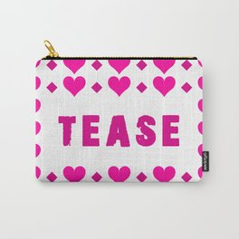 Tease - pink Carry-All Pouch