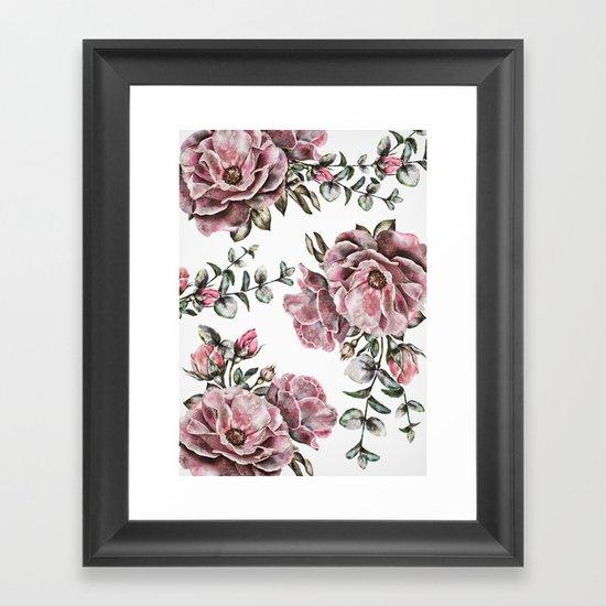 Summer Roses II Framed Art Print