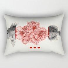 To Bloom Not Bleed Rectangular Pillow