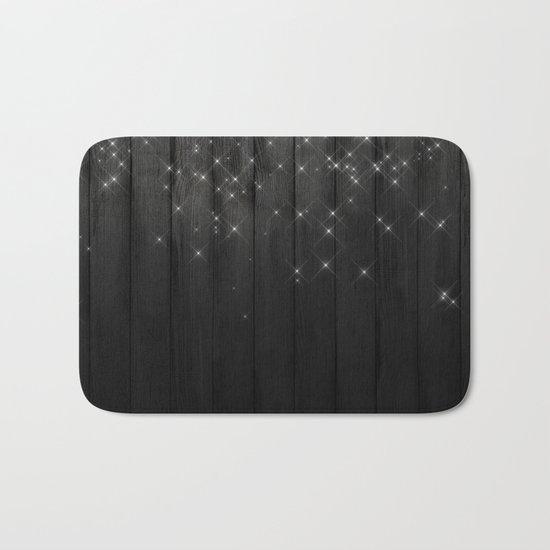 Fairy Lights on Wood 05 Bath Mat
