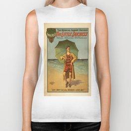 Vintage poster - The Little Duchess Biker Tank