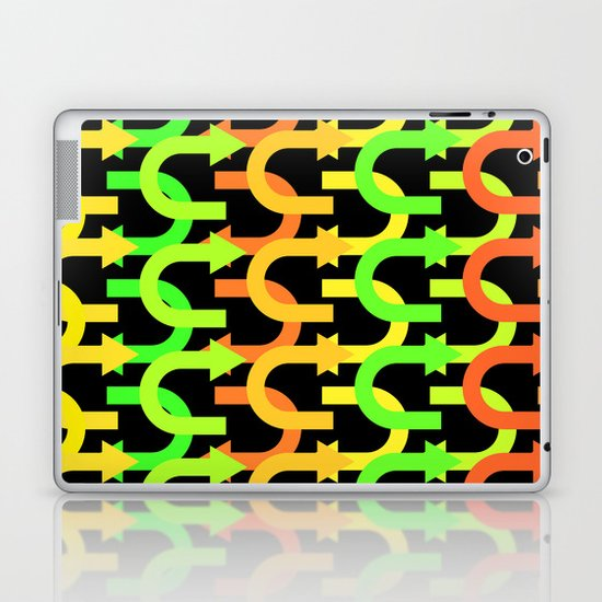 Which Way?  Laptop & iPad Skin