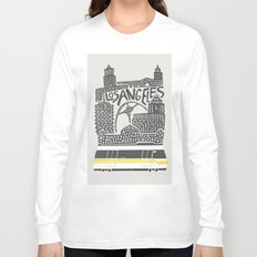 Los Angeles City Print Long Sleeve T-shirt