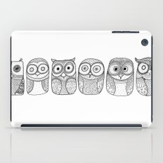 Six Pack (owl collective) iPad Case