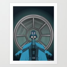 Consume The Galaxy Art Print