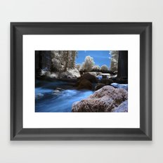 Ir River Framed Art Print