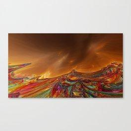 Strange Landscapes Canvas Print