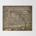 Psalms Bible Verse with Deer by quotelifeshop
